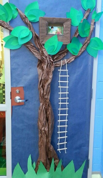 Our Magic Tree House door decoration for Read Across America Day