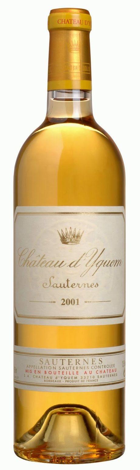Château d'Yquem 1er Cru Supérieur Classé de Sauternes blanc - Sauternes