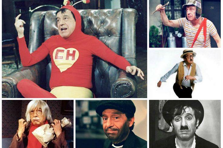 Los personajes que inmortalizaron a Roberto Gómez Bolaños