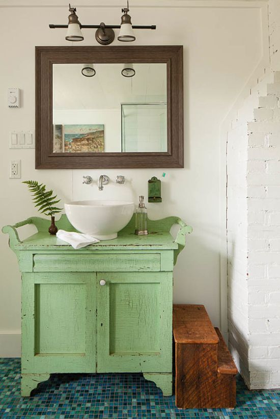 Stony Lake Cottage   Eclectic   Bathroom   Toronto   Flik By Design Photo  Credit Donna Griffith Photography Style At Home Aug 2014