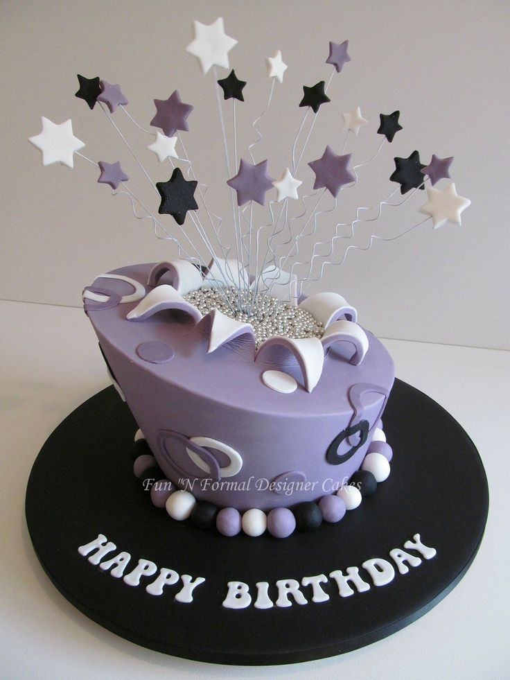 Best Birthday Cakes For Ladies Images On Pinterest Birthday - Formal birthday cakes