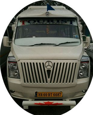 AC Tempo Traveller offering Tempo Traveller with Sofa and Bed on rent from Delhi to Outstation journey for comfortable journey at in pocket cost, We have other Tempo Traveller 12, 15 & 16 Seater tempo traveler with sofa and bed for Agra tour packages