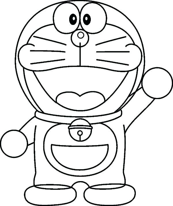 Doraemon Coloring Page For Kids Monster Coloring Pages Coloring Pages For Kids Coloring Book Download