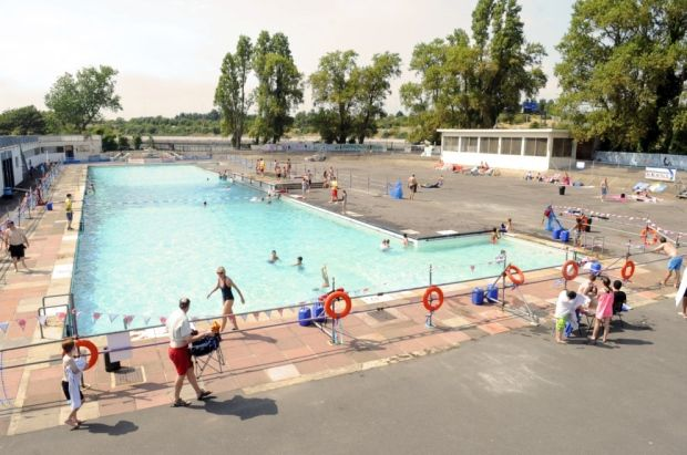 Hilsea Lido today.