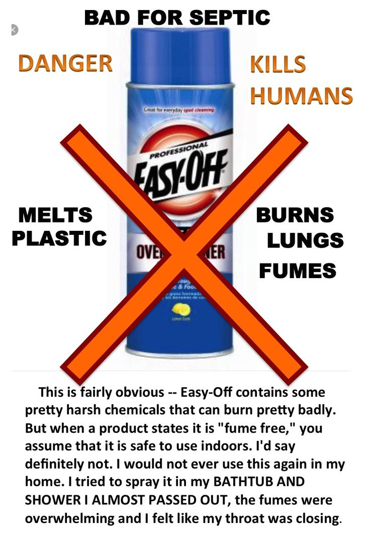 Never Use The Wrong Chemical, Read