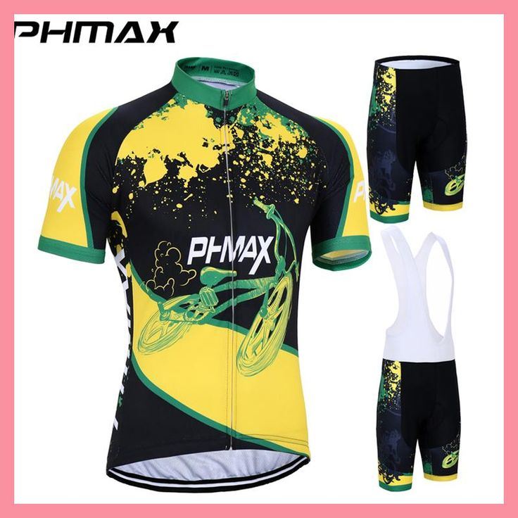 PHMAX 2017 Cycling Jersey Set Mountain Bike Clothing Bicycle Clothes Breathable Verano Maillot Roupas Ciclismo Hombre