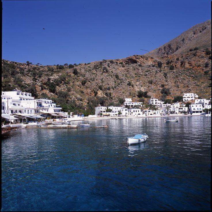 Loutro.. a tiny seaside village! (no cars, no roads)