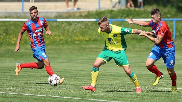 Fotbalová juniorka Plzně prohrála na hřišti Boleslavi