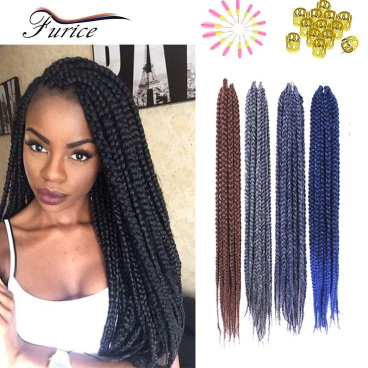"High Quality Curly Crochet Hair Freetress Twist Hair Extensions 18""24""Ombre Colored Hair Extensions Synthetic Dreadlock Hair"