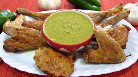 Recette Sauce mojo verde et son poulet grillé à ma façon