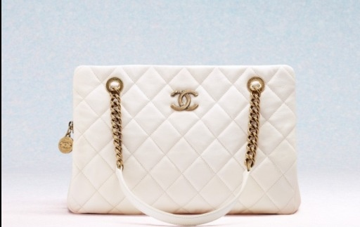 Chanel gold and white 2013