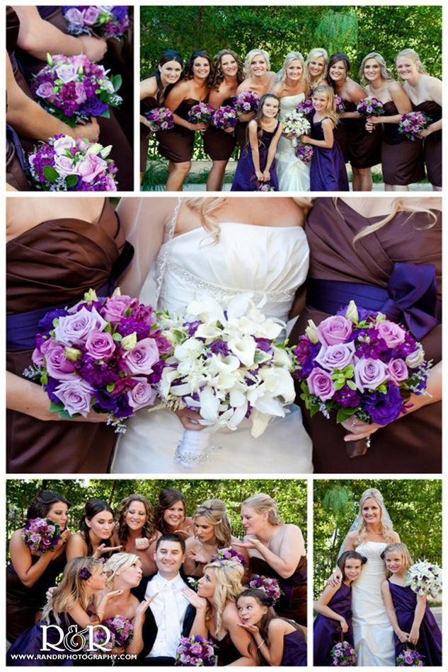 61 Best Purple Brown Wedding Inspiration Images On Pinterest