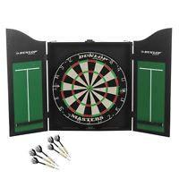 Dunlop Masters Tournament Size Bristle Dartboard and Cabinet