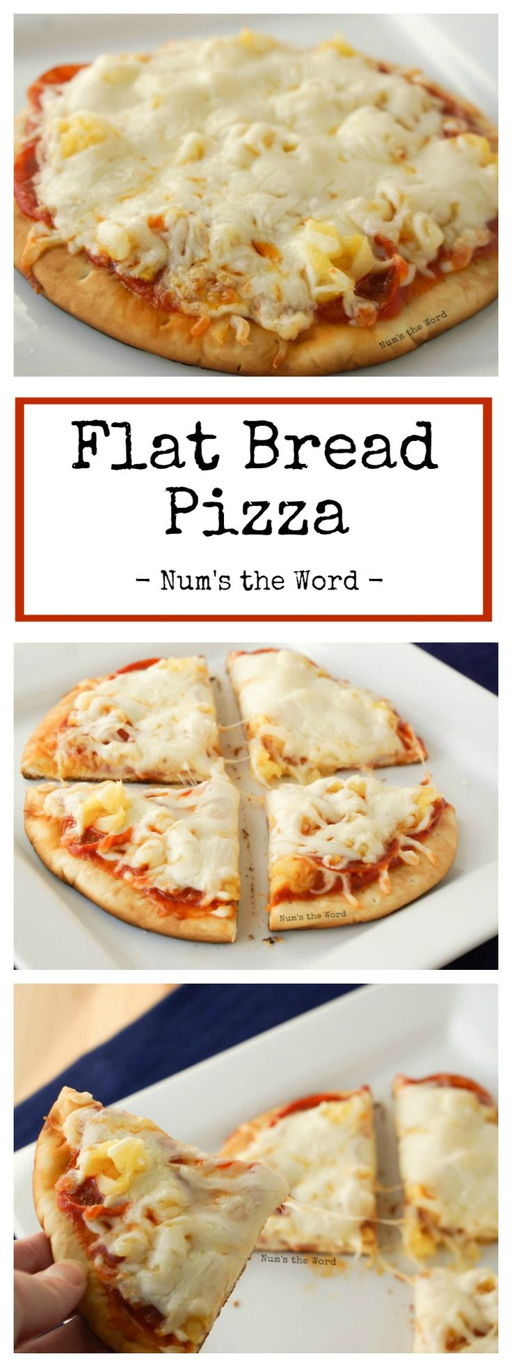 Flat Bread Pizza is an easy 15 minute, kid friendly meal that no one will complain about.  Simple, delicious and oh so tasty!