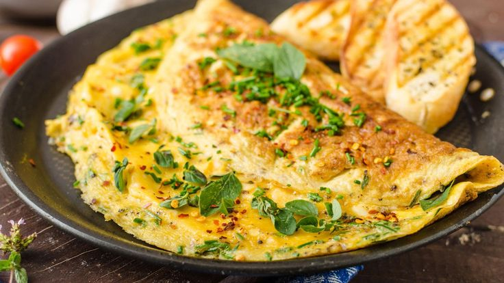 Thai curry omelette