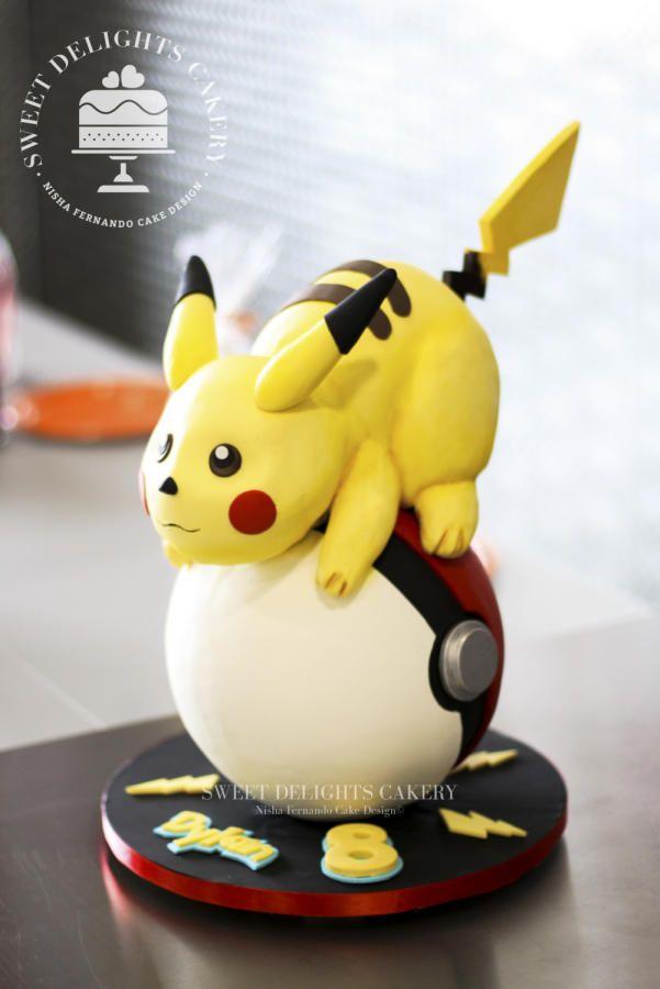 Pokémon Birthday Cake by Sweet Delights Cakery