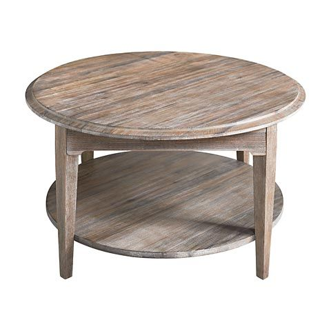 Bassett 6t 0605 fairview round cocktail table 36 for Round table 99 rosenheim