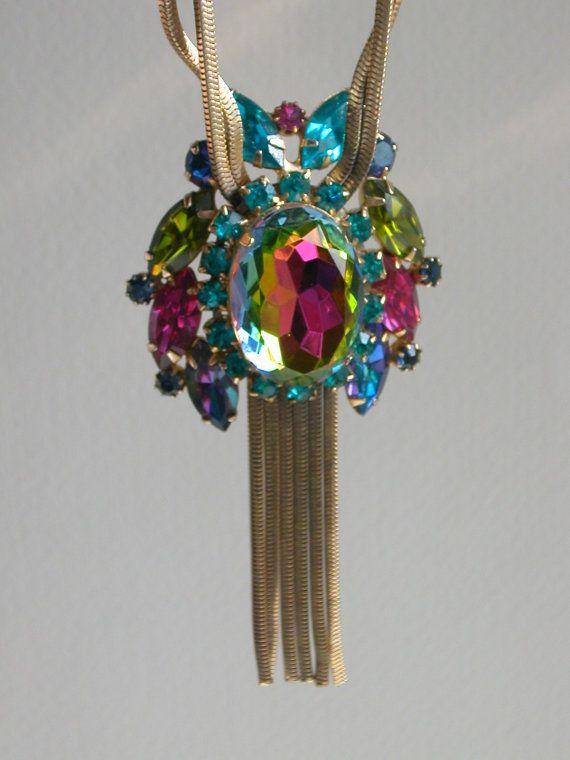 Schiaparelli Necklace by missgaylee on Etsy