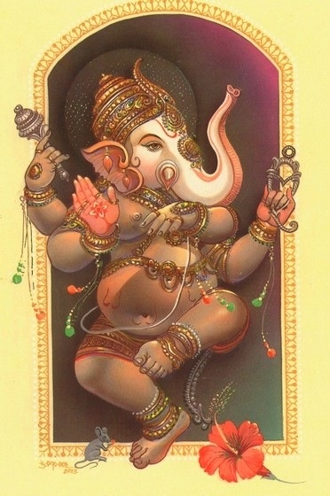 Ganesh THE HAPPIEST OF THE HINDU DEITIES!