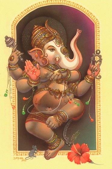 Ganesh THE HAPPIEST OF THE HINDU DEITIES!