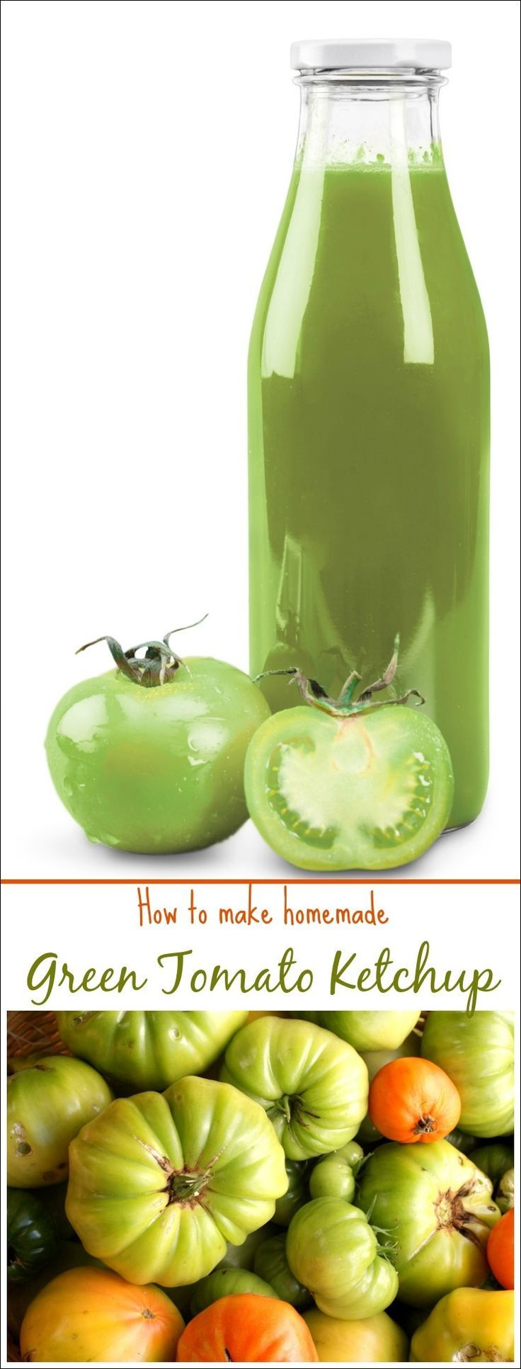 Do you have a bunch of green tomatoes left in your garden at the end of the season? Bring them in before it gets to cold and make Homemade Green Tomatoe Ketchup. Learn how to make homemade green tmato ketchup with this easy canning recipe at This Mama Cooks! On a Diet