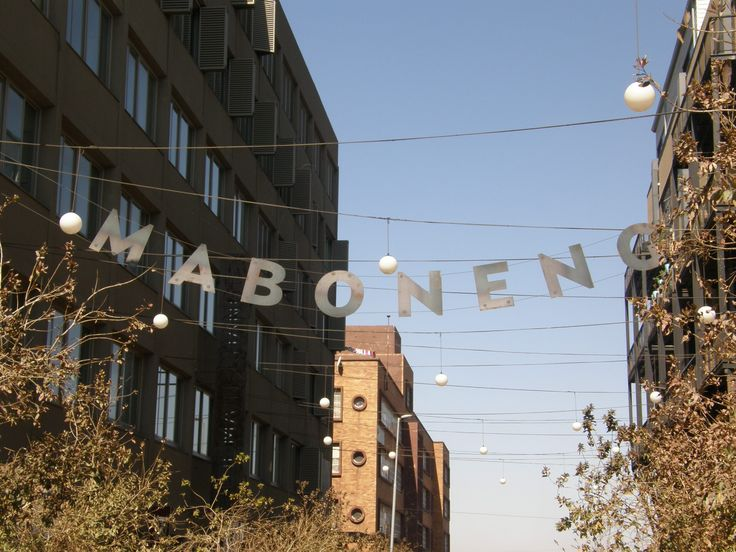 Maboneng means 'place of light', an apt name for this precinct. #SouthAfrica #Johannesburg #art
