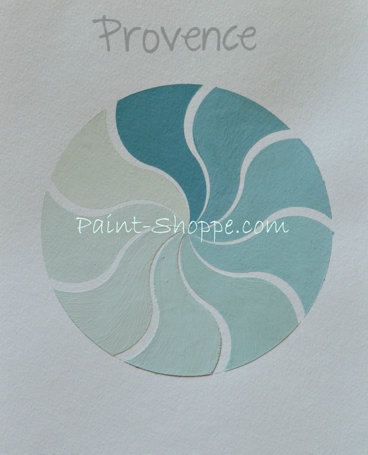 Provence color value pinwheel.  Yummy Eye Candy