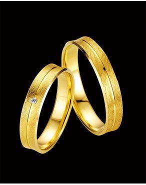 Βέρες Breuning χρυσός Κ8 με Διαμάντι