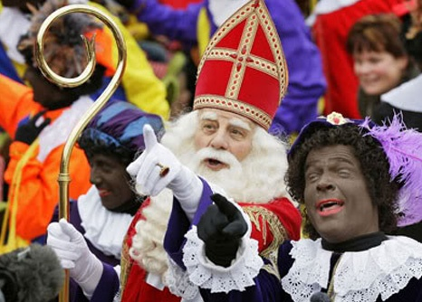 On every second Saturday of November the Dutch santa (Sinterklaas) comes to The Netherlands with his steamboat full of presents and zwarte pieten (black Piet) All the way from Spain where he lives. He arrives every year at a different town/city and when he arrives, a whole parade is made through that town. Everything can be followed on the national television. Every child in The Netherlands may put his or her shoe in front of the fireplace in order to recieve a gift from Sinterklaas on the…