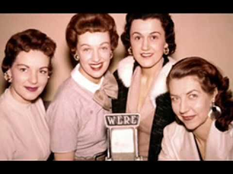 Mr. Sandman - The Chordettes. Now going back to my baby years remembering mom playing it on the radio.