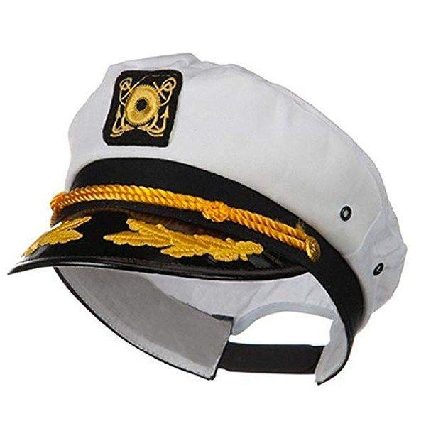 Captain Sailor Hat Anchor Nautical Marine Fancy Dress