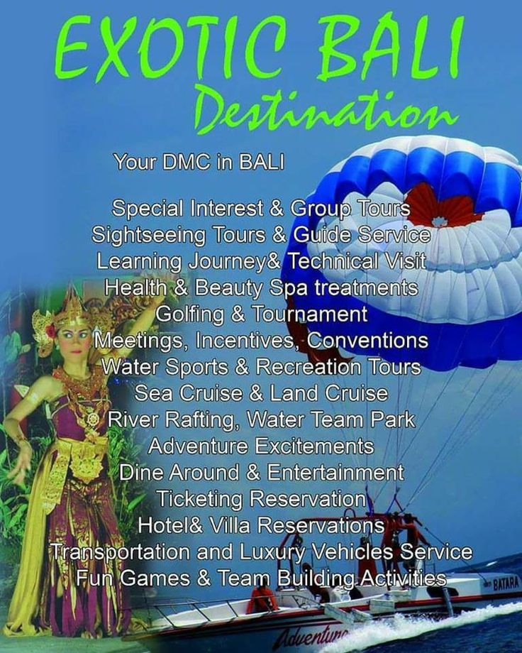INBOUND DMC in BALI – PIHU LISTINGS : Free Classifieds India, Post & Search Ads Online