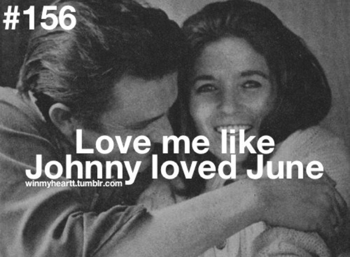 Love Quote Johnny Cash June