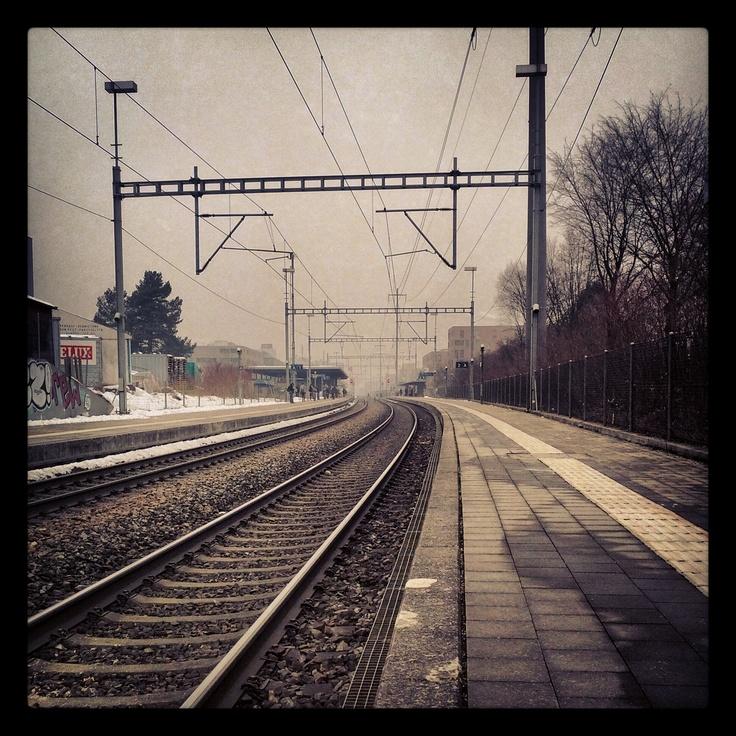 Affoltern Bahnhof by Thomas Lottermoser: http://pinterest.com/manganite/