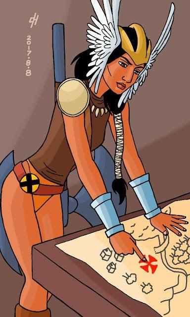 The Icecypher: Marvel Comics: Mirage. [Commission.]