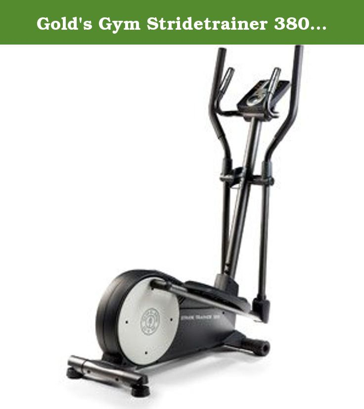 Gold's Gym Stridetrainer 380 Elliptical Trainer.