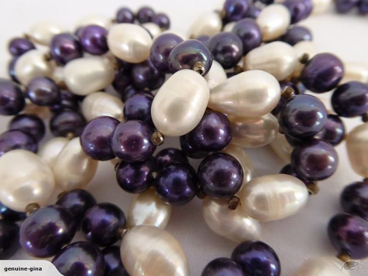 Huge long cultured Pearls necklace