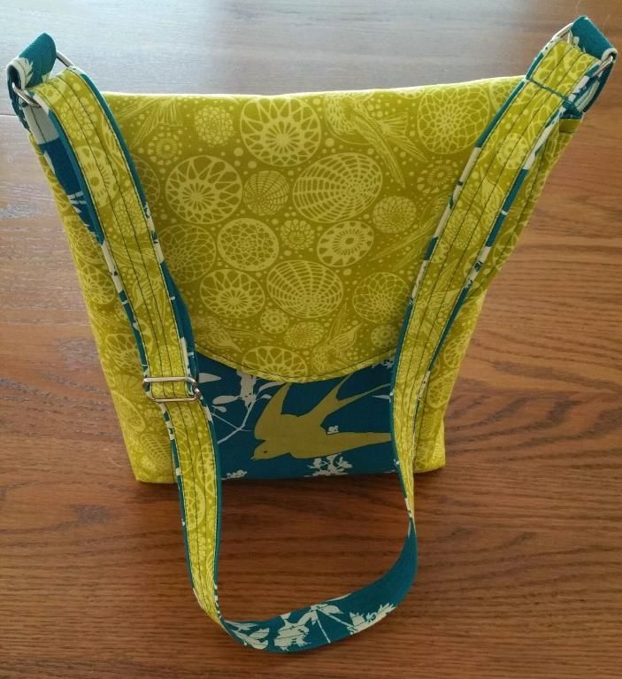 Looking for sewing project inspiration? Check out Crossbody Bag by member Arlene C. - from the pattern by So Sew Easy