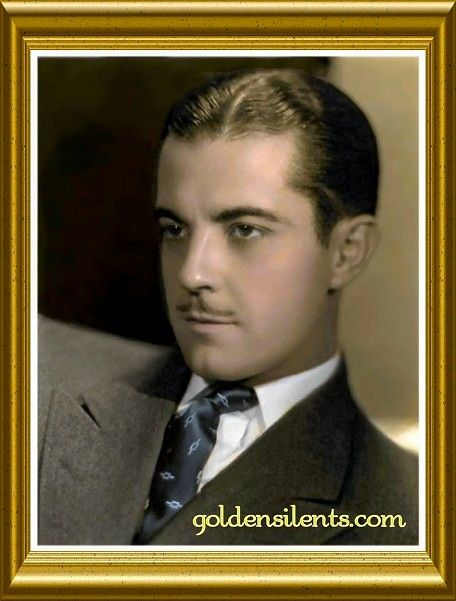 male silent screen stars | Colorized by Golden Silents, The handsome Silent Star Ramon Novarro