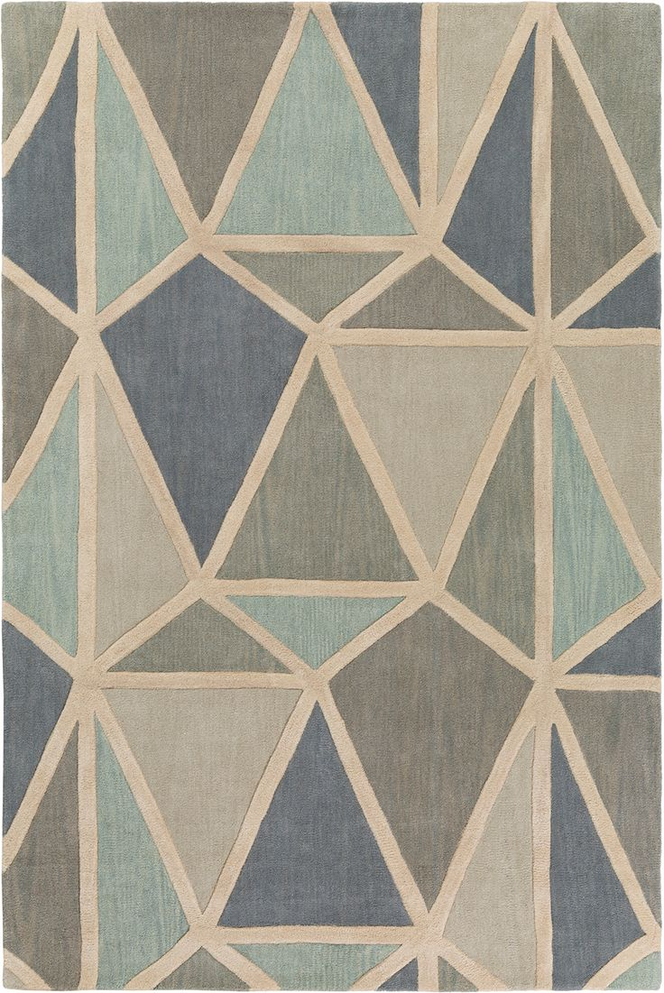 Oasis OAS1119 Area Rug from the Bauhaus Minimal Design Rugs III collection at Modern Area Rugs