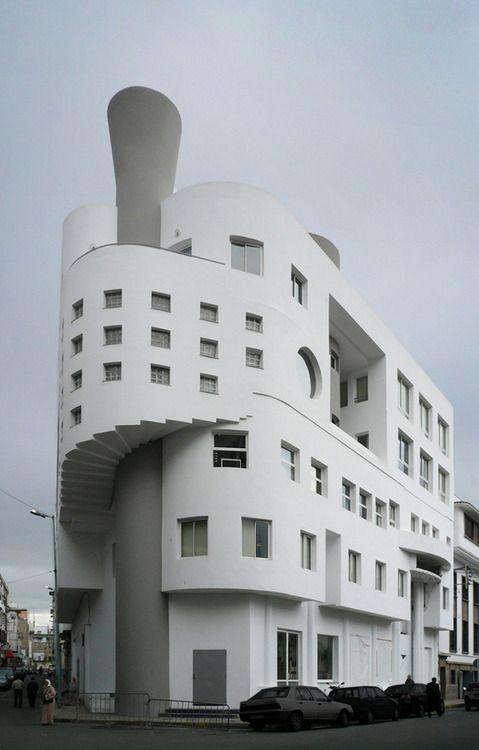 MA casablanca gebouw 02 byKlaas Vermaas