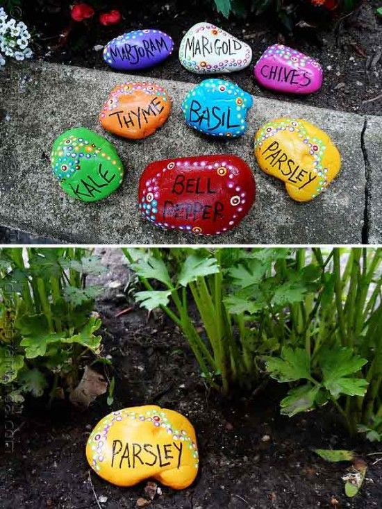 Garden Rocks #lakeforest #gardenideas                                                                                                                                                                                 More