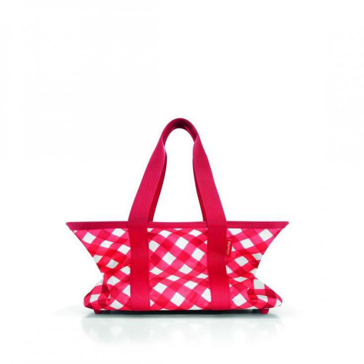 Koszyk mini maxi basket square red - DECO Salon #reisenthel #basket #shoping #giftidea