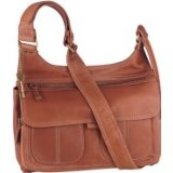 Fossil Womens Leather Organizer Bag - Everyday Flap Organizer (Color: Cognac) (Apparel)By Fossil