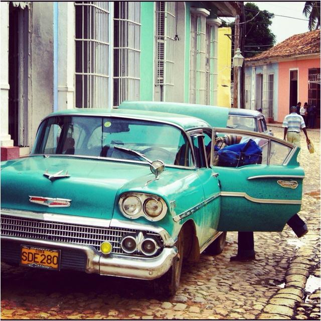 Old cars, rum & cigars - Trinidad, Cuba