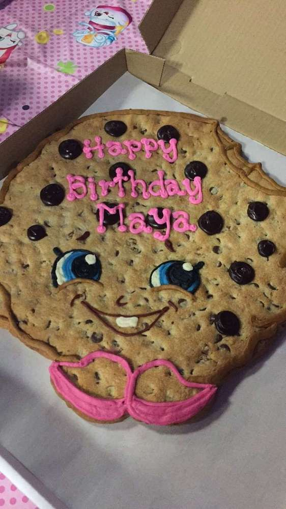 Maya's Shopkins Birthday Party! | CatchMyParty.com                                                                                                                                                                                 More