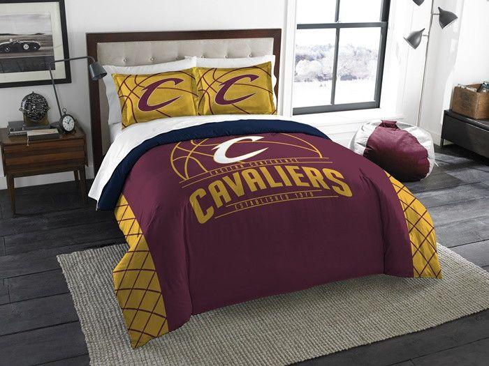 Cleveland Cavaliers NBA Reverse Slam Full-Queen Comforter Set