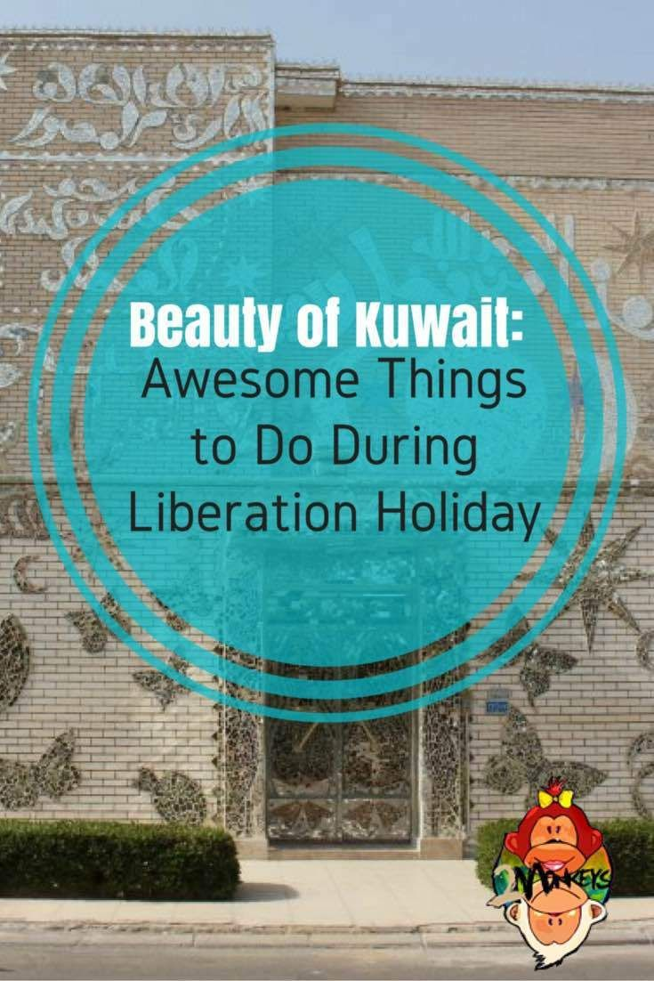 Beauty of Kuwait, Awesome Things to Do during Liberation Day. Liberation Day is a great time to explore Kuwait and go people watching. It's fun to see kids running around the seaside and even in the mall. It's also entertaining to see the kind of water guns they have on hand. Somehow, it seems that the people here in Kuwait take getting other people wet seriously. The water guns they have are really high tech.