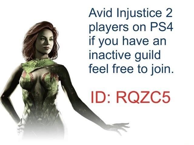 PS4 Injustice 2 players wanted.
