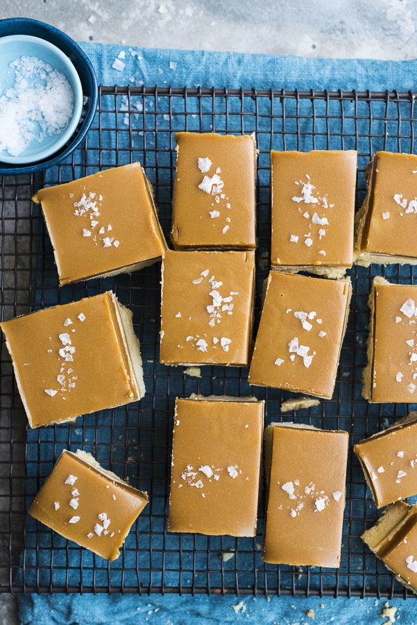 Ottolenghi's Middle Eastern Millionaire's Shortbread - delicious recipe from his new book entitled Sweet written with Helen Goh